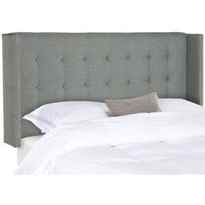 Charlotta Full Upholstered Wingback Headboard by Willa Arlo Interiors