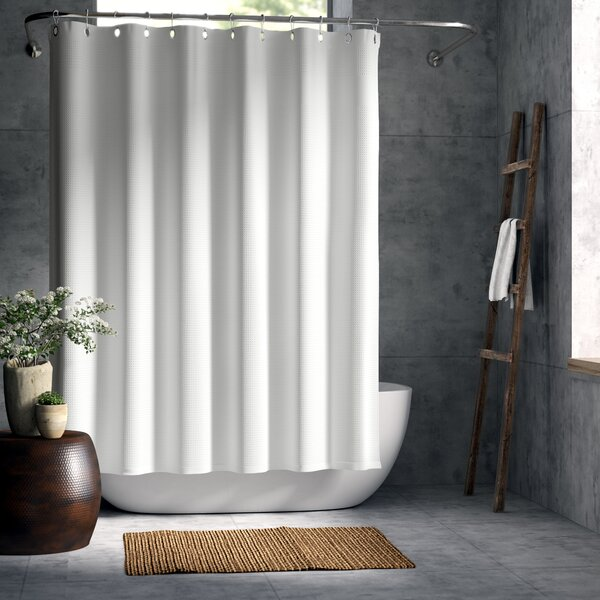La Crosse Extra Heavy Hotel Quality Cotton Shower Curtain by Greyleigh