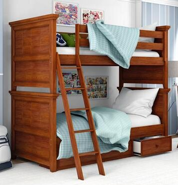Poulan Bunk Bed by Three Posts Baby & Kids
