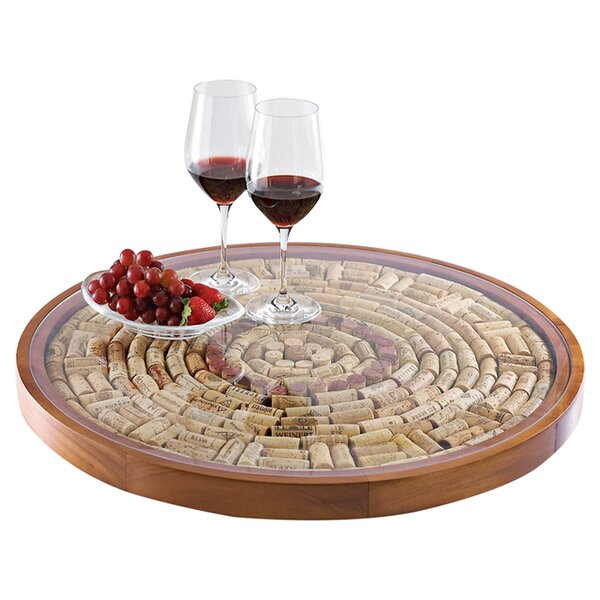 Wine Cork Lazy Susan Kit by Wine Enthusiast