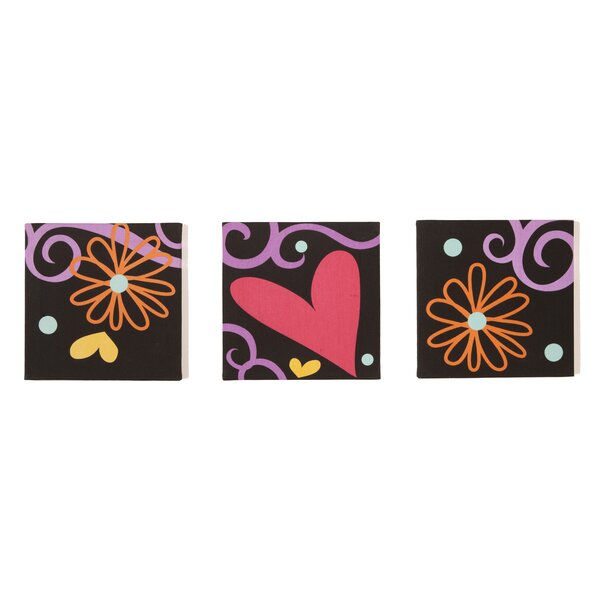3 Piece Sassy Shaylee Canvas Art Set by One Grace Place
