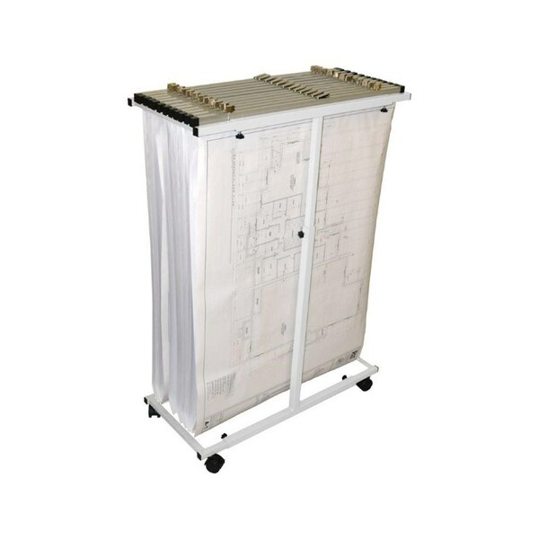 Mobile Vertical Filing Cabinet by Adir Corp