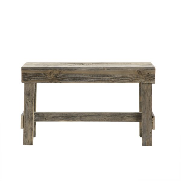 Marsh Wood Bench by August Grove