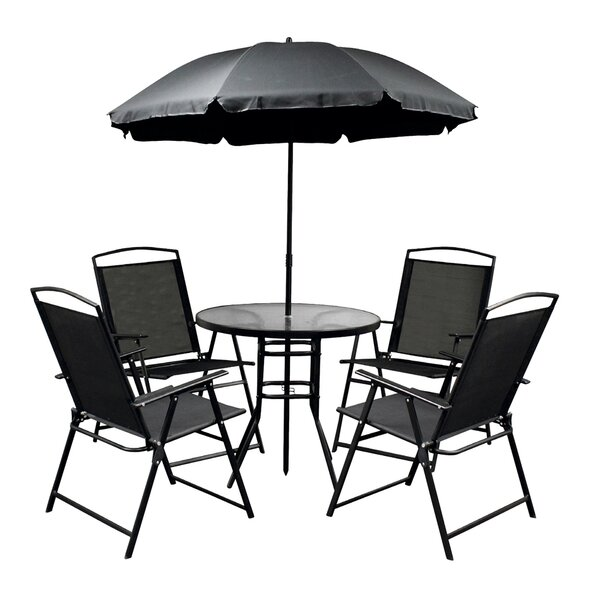 Stark Rustproof 6 Piece Dining Set by Freeport Park