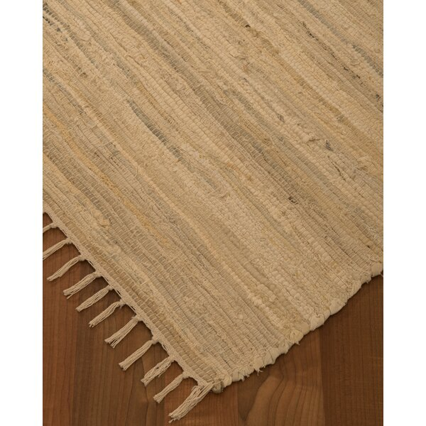 Mystic Hand-Woven Beige Area Rug by Natural Area Rugs