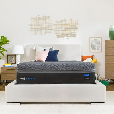 Sealy Premium Silver Chill Cooling Plush Mattress Mattress Hybrid Mattresses
