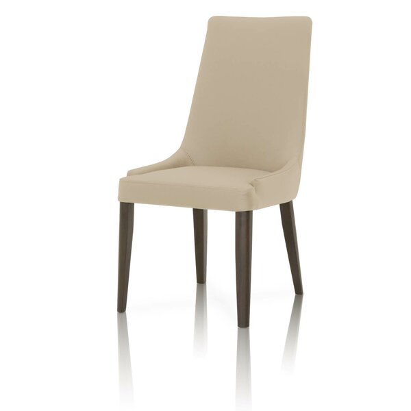 Hemsworth Leather Upholstered Dining Chair (Set of 2) by Corrigan Studio