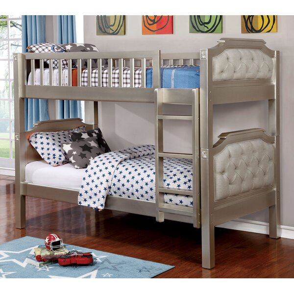 Fillmore Twin over Twin Bunk Bed by Harriet Bee