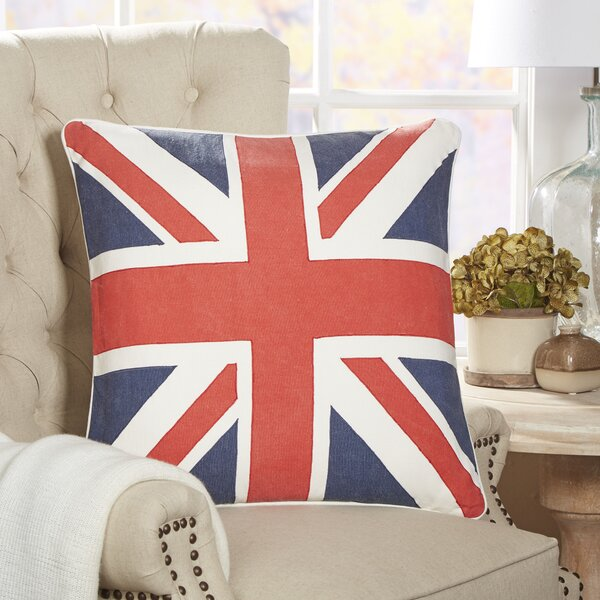 British Flag Fleet Pillow Cover by Birch Lane™