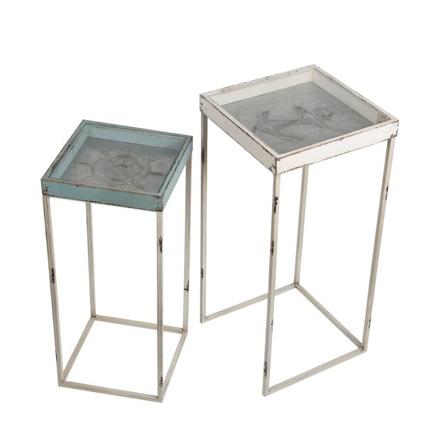 Yorklyn 2 Piece Nesting Plant Stand by Breakwater Bay