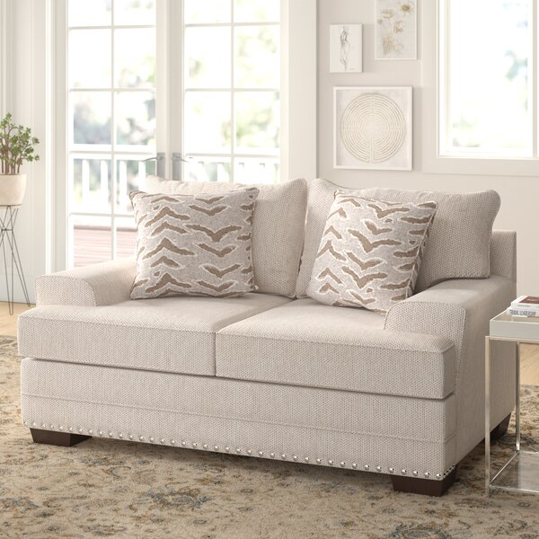 Top Brand Surratt Loveseat by Simmons Upholstery by Three Posts by Three Posts