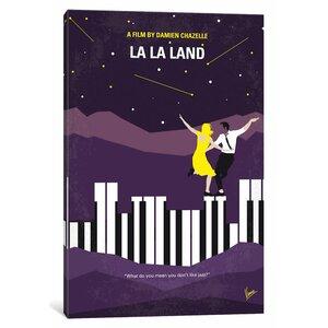 'La La Land' Graphic Art Print on Canvas by East Urban Home
