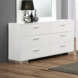 Campton 6 Drawer Double Dresser by Orren Ellis
