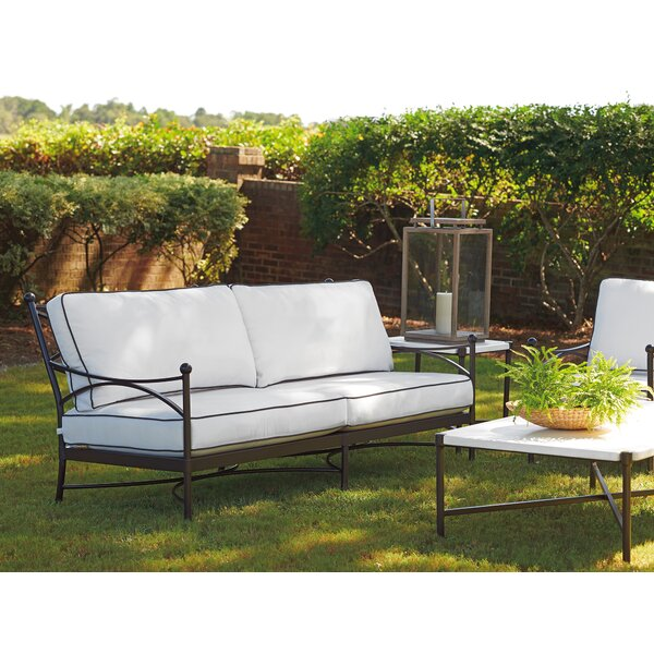 Pavlova Loveseat with Sunbrella Cushions by Tommy Bahama Outdoor