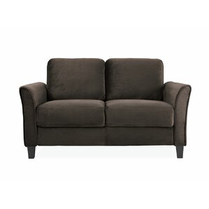 Budget Charlton Home Patricia Curved Arm Loveseat