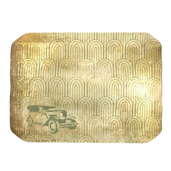 Deco Car Placemat by KESS InHouse