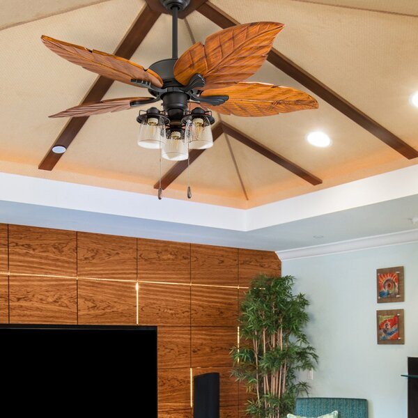 52 Lambeth 5 Blade LED Ceiling Fan by Bay Isle Home