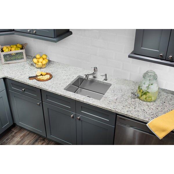 Stainless Steel 23 L x 18 W Undermount Kitchen Sink