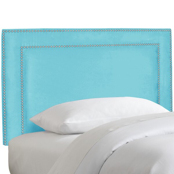 Andrade Nail Button Border Upholstered Panel Headboard by Willa Arlo Interiors