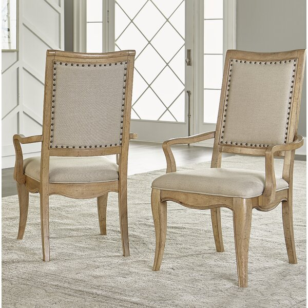 Althoff Upholstered Dining Chair (Set of 2) by One Allium Way