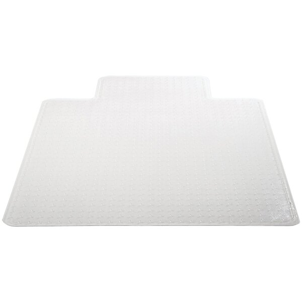 Medium Pile Carpet Beveled Edge Chair Mat by Deflect-O