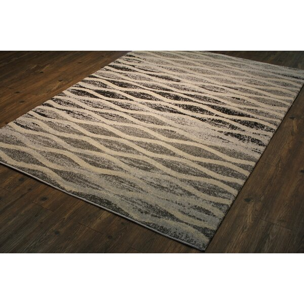 Fernon Persian Trellis Ivory/Brown Area Rug by Latitude Run