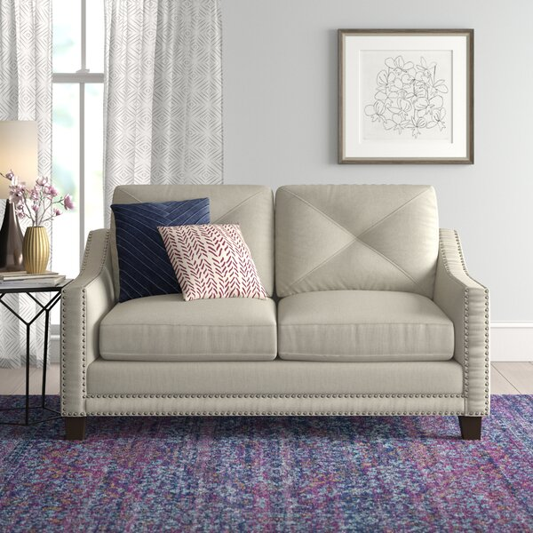 Vaillancourt Loveseat by August Grove