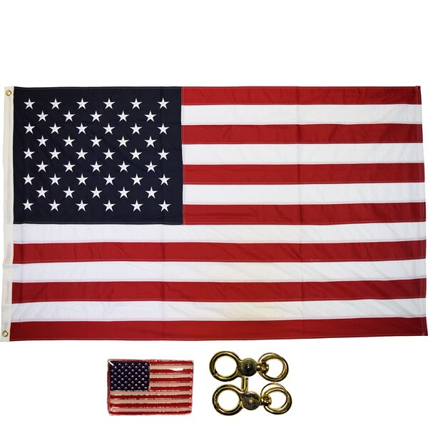 American Nylon 3 x 5 ft. House Flag by NeoPlex