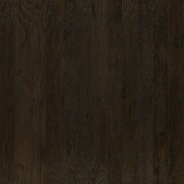 5 Engineered Hickory Hardwood Flooring in Dark Shadow by Welles Hardwood
