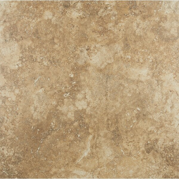 Aguirre 24 x 24 Porcelain Field Tile in Moka by Itona Tile