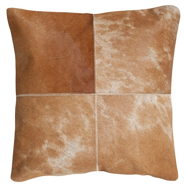 Selmacowhide Suede Throw Pillow (Set of 2) by Safavieh
