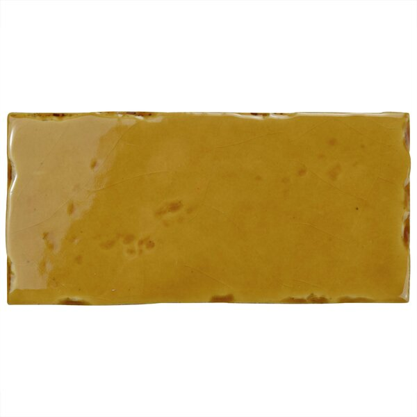 Frisia Subway 2.5 x 5.13 Ceramic Subway Tile in Yellow by EliteTile