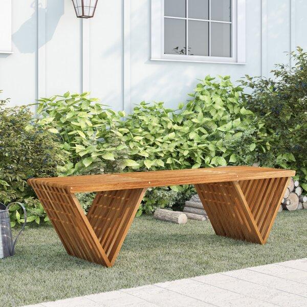 Ossu Teak Picnic Bench By Union Rustic