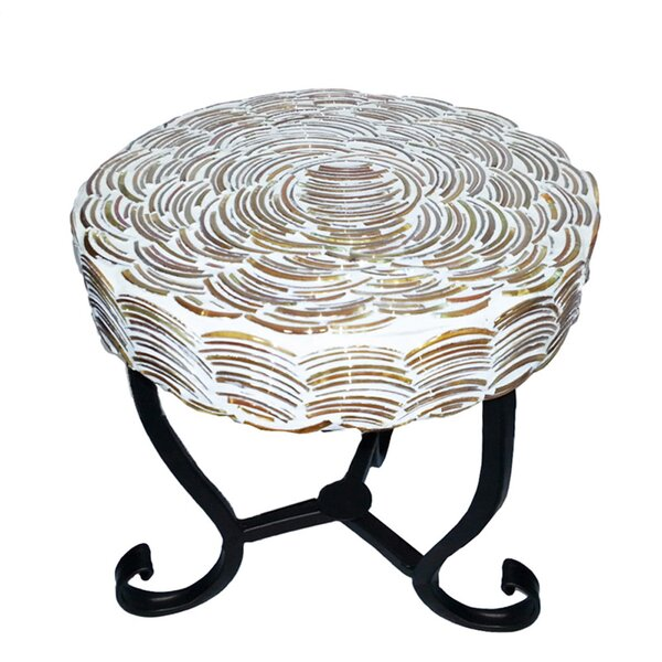 Petrick Mosaic Bistro Table by Bloomsbury Market