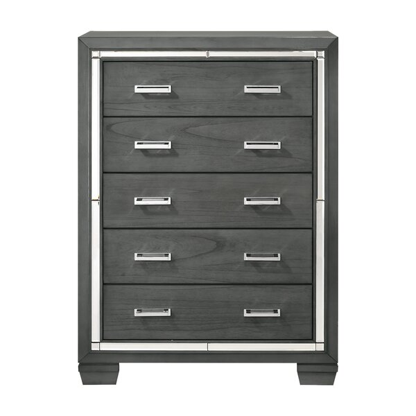 Anthea 5 Drawer Chest by House of Hampton