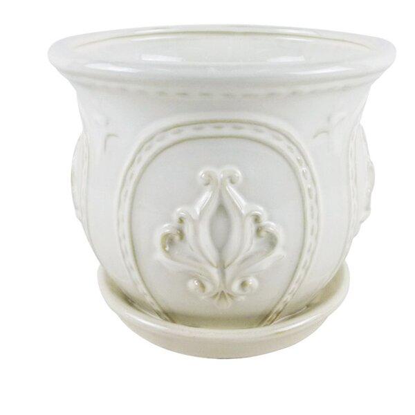 Dorcas Ornate Ceramic Pot Planter by Ophelia & Co.