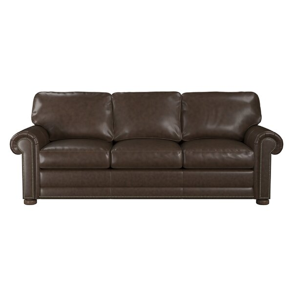 Home & Outdoor Odessa Leather Sofa Bed