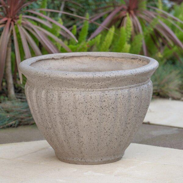 Edgware Magnesium Oxide Pot Planter by Canora Grey