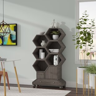Westgate Longworth Geometric Bookcase