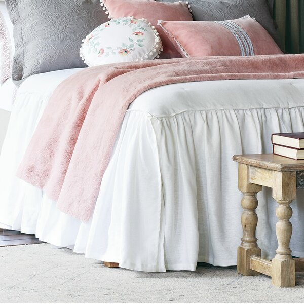 Grace Ruffled Single Coverlet