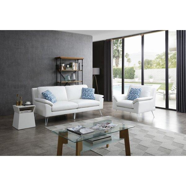 Lourenco 2 Piece Living Room Set by Wrought Studio
