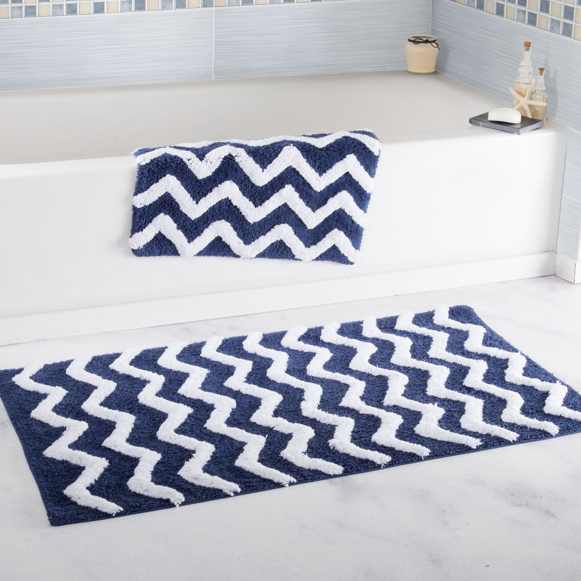 simple bath with bathroom blue set the designs floral ideas how motifs for rugs beautiful to piece rug choose remodel luxury