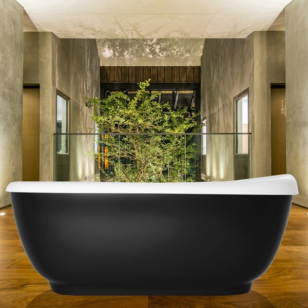 Fido 65.75 x 29.25 Soaking Bathtub by Aquatica