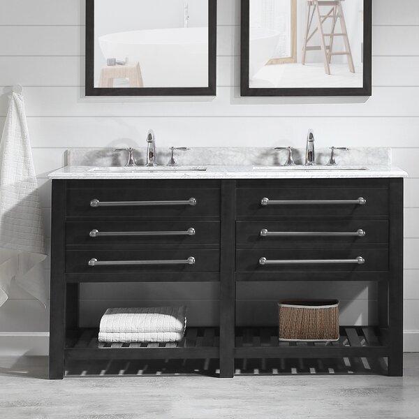 Amilie 60 Double Bathroom Vanity Set