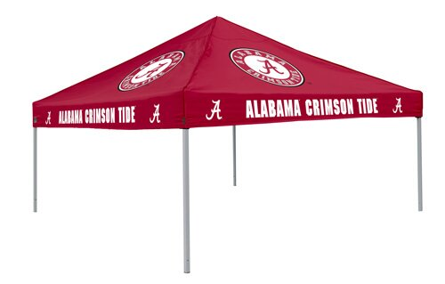 Collegiate Crimson Tent - Alabama by Logo Brands