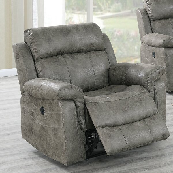 Aubriana Faux Leather Power Recliner W002399104