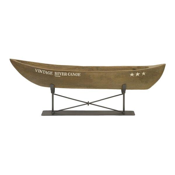 Alvaro Canoe Decor by Millwood Pines