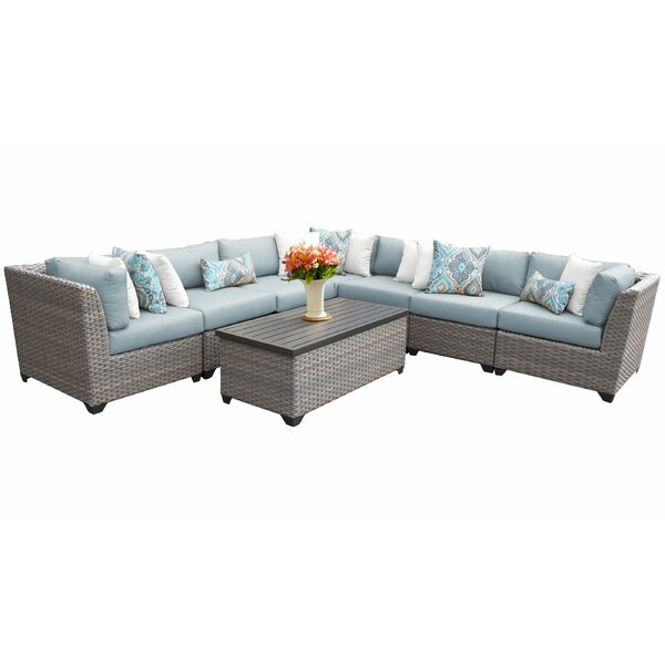 Kenwick 8 Piece Sectional Seating Group with Cushions by Sol 72 Outdoor