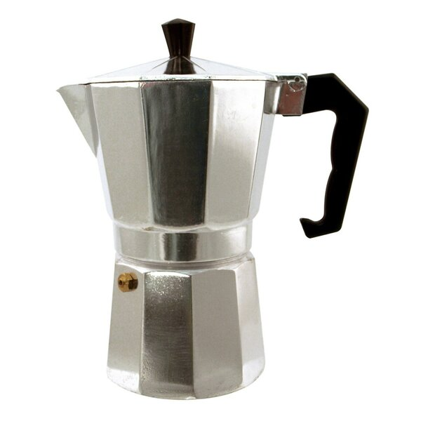 Kitchen Genie 6 Cup Stovetop Espresso Maker by Gourmet Home Products