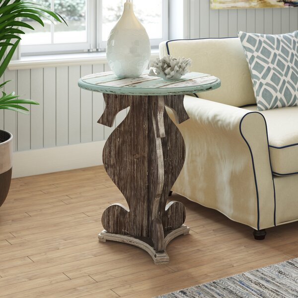 Norcroft End Table by Beachcrest Home